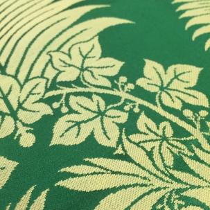 Fern & Wreath - hand woven silk